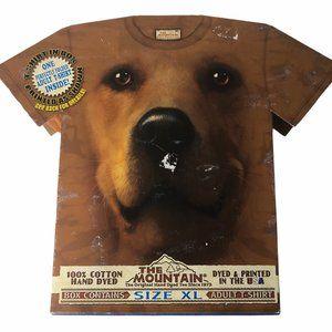 Mountain Dog Golden Retriever Big Face Shirt XL